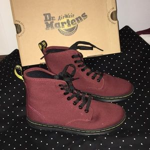 Cherry Red Shoreditch Dr. Martens Boots